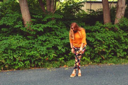 Floral Pants 1